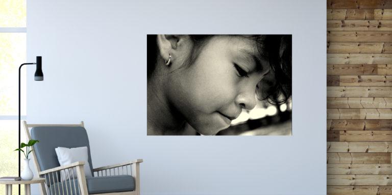 Portret dziewczynka fotoobraz
