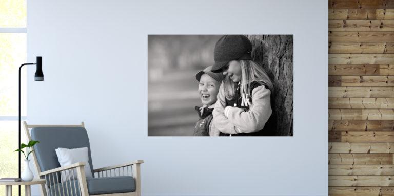 Dzieci śmiech fotoobraz