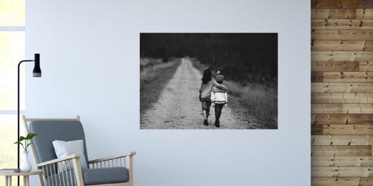 Dzieci spacer fotoobraz