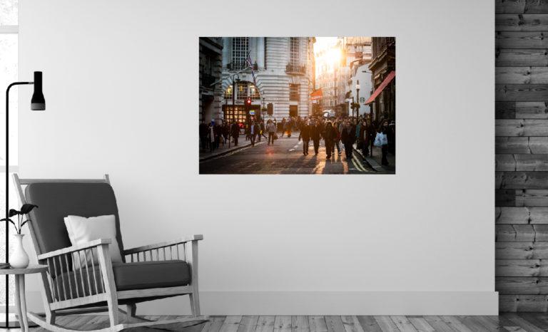 Ulica, miasto fotoobraz