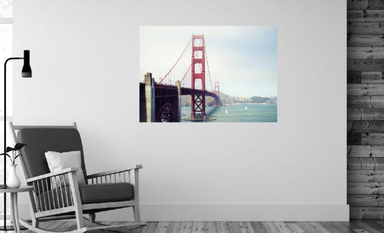 Most Golden Gate fotoobraz