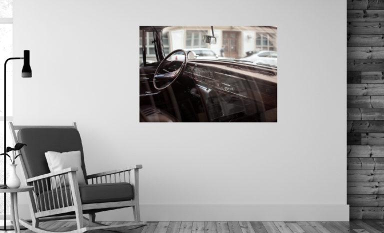 Stare auto fotoobraz