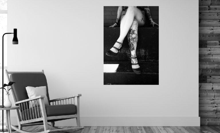 Kobieta nogi fotoobraz
