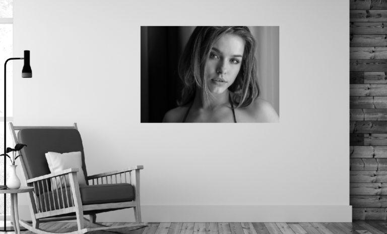 Kobieta portret fotoobraz