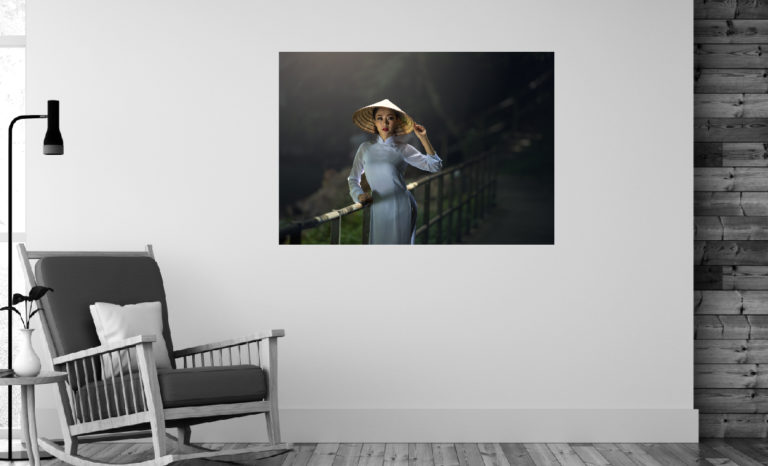 Kobieta fotoobraz