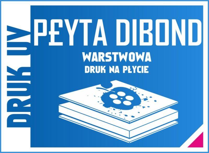 druk na płytach dibond