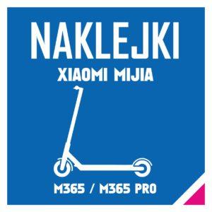 Naklejki Xiaomi Mija M365 i M365 Pro