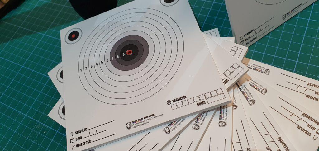 tarcza strzelecka pcv